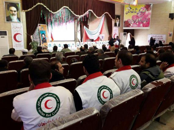 یادواره شهدای امدادگراستان در شهرستان ملایر/ گزارش تصویری