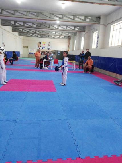 رقابت های رزمی نوجوانان همدانی در رده سنی مختلف / گزارش تصویری