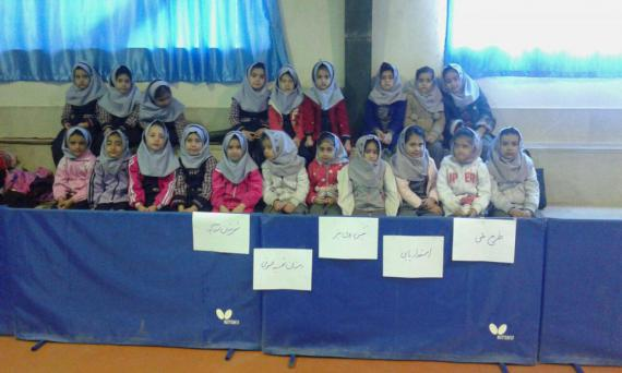 جشنواره استعدادیابی ملی تنیس روی میز در استان همدان