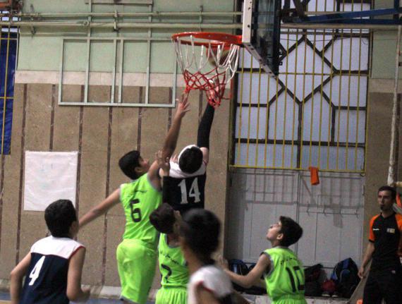مسابقات مینی بسکتبال غرب کشور