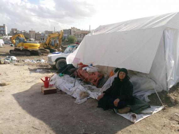 کودکان زخم خورده زلزله کرمانشاه درانتظار آینده/ تولد متفاوت ماهان در آوارهای سرپل ذهاب