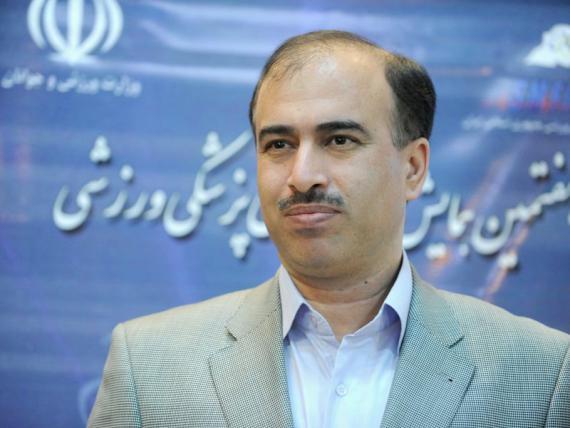 رشید حیدری مقدم رئیس هیئت پزشکی ورزشی همدان