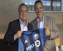تبادل پیراهن بین سران باشگاه رئال و مونترال
