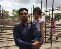 اشک دختر پرسپولیسی برای ورود به ورزشگاه آزادی