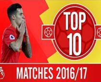 10 تقابل مهم لیورپول در لیگ برتر جزیره