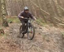 دوچرخه سواری هیجان انگیز در جنگل