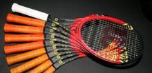 سیمهای پلی استری برای راکت تنیسورهای حرفهای