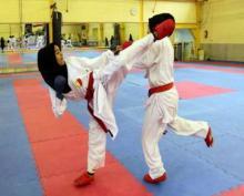 برگزاری مسابقات استانی کاراته بانوان