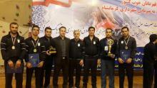 درخشش تیم کشتی شهرداری همدان در مسابقات کلانشهرهای کشور