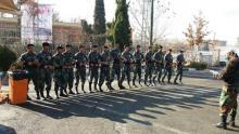 گروه نمایشی وبسیجیان هیات کونگ فو و هنرهای رزمی استان همدان در حماسه 9 دی