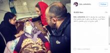 حادثه برای بازیگر زن سینما هنگام اسب سواری