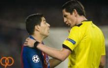 داور بازی بارسلونا و پاریسن ژرمن تا اطلاع ثانوی محروم شد!