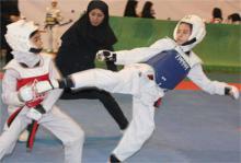 اعزام تکواندو کاران نونهال دختر استان به مسابقات قهرمانی کشور