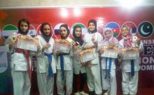 درخشش نونهالان کاراته کا شهرداری همدان در مسابقات بین المللی جام دوستی ملت ها