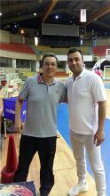 حضور مربی همدانی در اردوی تیم ملی بسکتبال نوجوانان