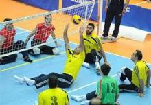 تیم والیبال نشسته استان در مسابقات لیگ باشگاهی