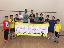 برگزاری مسابقات اسکواش گرامیداشت حماسه 9 دی در همدان