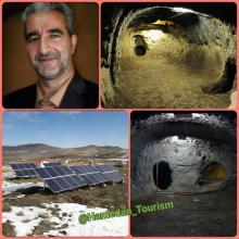 ارزانفود به عنوان نخستین سایت باستانی کشور مجهز به برق خورشیدی شد