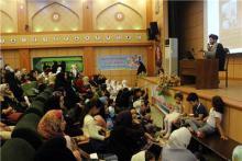 برگزاری همایش عفاف و حجاب ویژه بانوان ورزشکار شهر همدان