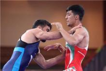 همدان قهرمان مسابقات انتخابی کشتی فرنگی استان شد