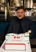 حرفهای خواندنی علی دایی در جشن تولد 50 سالگی