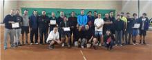 از قهرمانان تنیس با حضور مدیر کل ورزش تقدیر شد