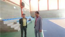 بازدید مدیرکل ورزش و جوانان استان همدان از روند ساخت استادیوم 5 هزار نفری ملایر