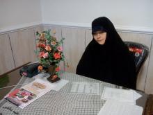 شکوه حجاب در پیاده روی بزرگ نسل ظهور / حضور بانوان قهرمان حجاب و عفاف در پیاده روی