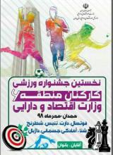 نخستین جشنواره ورزشی کارکنان وزارت اقتصاد و دارایی در همدان برگزار میشود