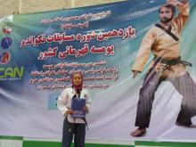 راهیابی تکواندوکار بانوی استان به اردوی تیم ملی تکواندو پومسه