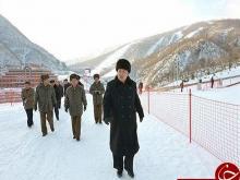 اقدام زشت رهبر کره شمالی در پیست اسکی! +تصاویر