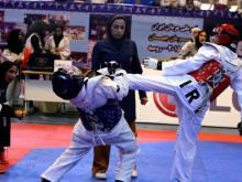 قضاوت بانوی همدانی در مسابقات لیگ دسته یک جوانان (جام کوثر)