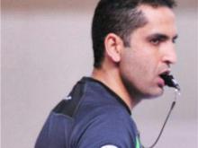 قضاوت داور بین المللی همدان در مقدماتی جام جهانی بسکتبال