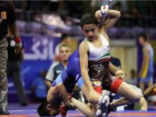 درخشش همدان در مسابقات کشتی قهرمانی کشور