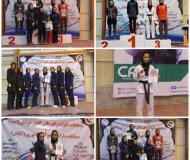 نخستین دوره مسابقات قهرمانی کشور «امید» زنان با حضور تکواندو همدانی / گزارش تصویری