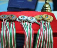 تصاویر آیین اختتامیه و مراسم اهدای مدال رشته فریزبی در دومین المپیاد ورزش های همگانی