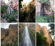 صلابت و شکوه طبیعت کرمانشاه در یکی از بلندترین آبشارهای ایران
