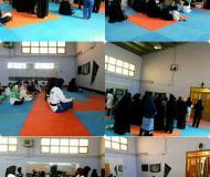 دعای توسل ورزشکاران و خانواده ورزشکاران تکواندوکار و رشته رزم طوس در باشگاه شهید صانعی
