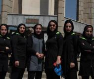 بازدید فرهنگی دانشجویان دخترالمپیاد ورزشی از مناطق گردشگری همدان