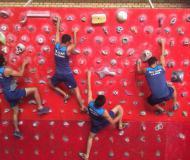 دومین مرحله اردوی تیم ملی سنگنوردی در همدان