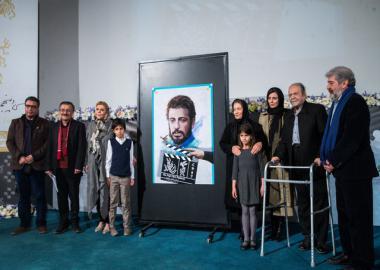 رونمایی از پوستر جشنواره فیلم فجر