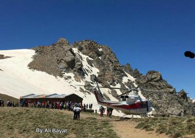 گزارش حادثه کلاغ لانه همدان/ سقوط کوهنورد از ارتفاع 300 متری