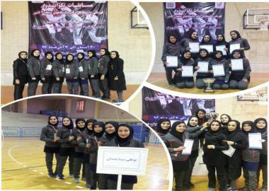 نایب قهرمانی دانشجویان دختر دانشگاههای منطقه ۴کشور توسط تکواندوکاران دانشگاه بوعلی سینا همدان